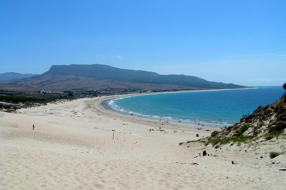The photo/beach that wins the contest: Tarifa (Spain)
